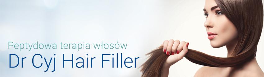 Peptydowa terapia włosów Dr Cyj Hair Filler