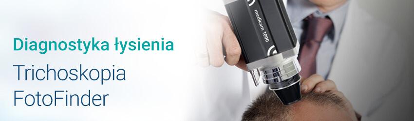 Diagnostyka łysienia - trichoskopia Szczecin